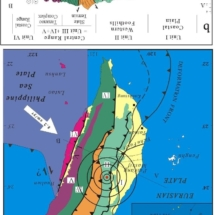 Taiwan geology map