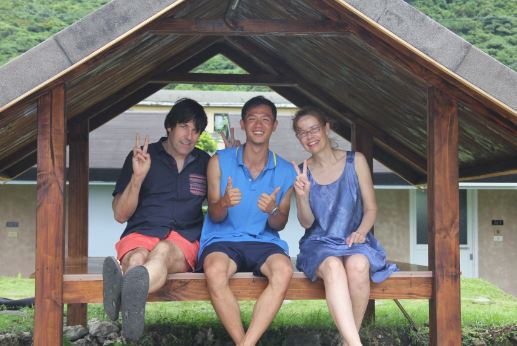Dominik Fehr, Willy Chen and Eliane Suter on Lanyu (Orchid Island)