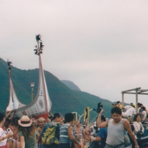 Yami fishing boat ceremony