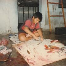 Fish cutting skills